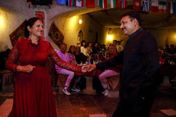 Indian Wedding Reception Cappadocia Turkey - Bride