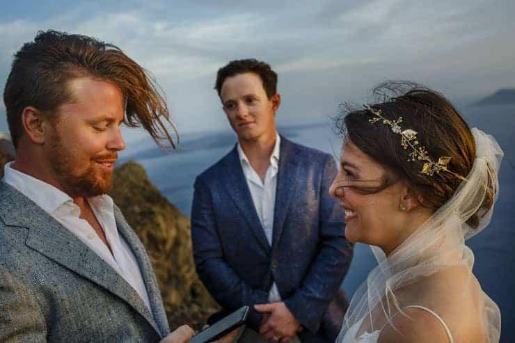 Yunanistan Santorini Düğün Cekimi