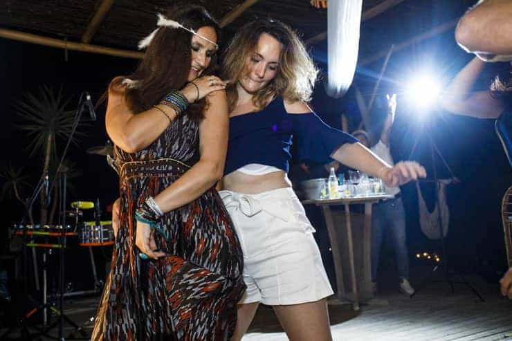 Cesme Fun Beach Wedding Reception - halay dance