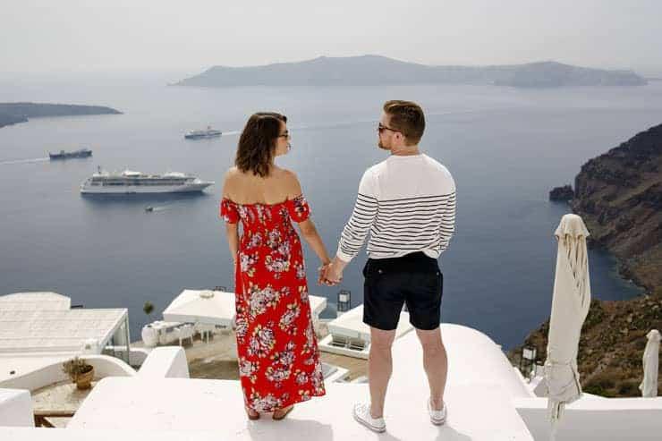 Santorini Engagement Shooting - Fira