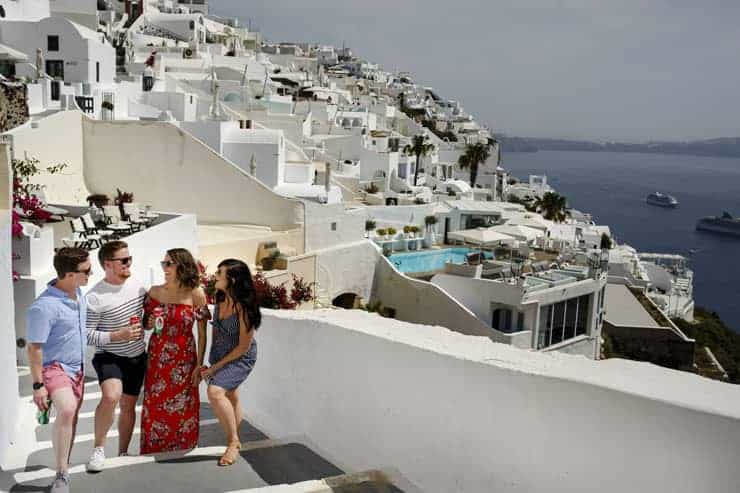 Greece Santorini Pre Wedding Shooting - Fira