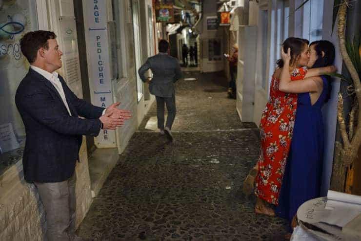 Santorini Wedding Photographer - after party