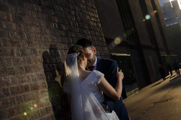 London wedding photo session - sunset