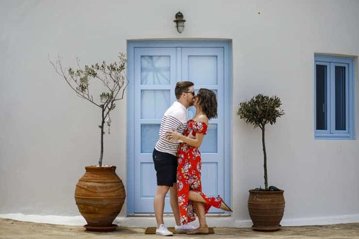 Santorini Engagement Shooting - Oia