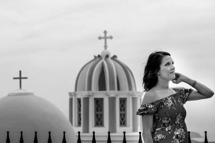 Santorini Pre Wedding Shooting - Fira