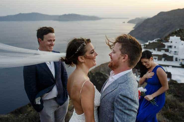 Santorini Wedding Photography - Ceremony