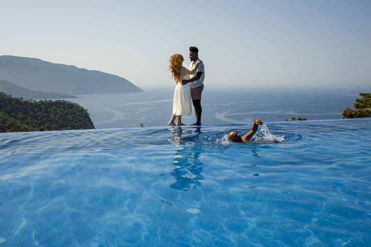Fethiye Help Beach Wedding Photo