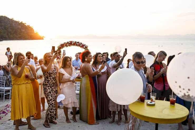 Fethiye Help Beach Wedding Photographs - Groom