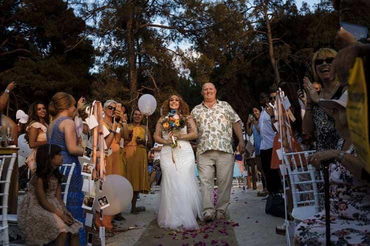 Fethiye Help Beach Wedding Photographs