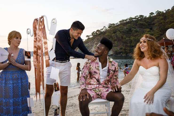 Fethiye Help Beach Wedding Photographs - Ceremony