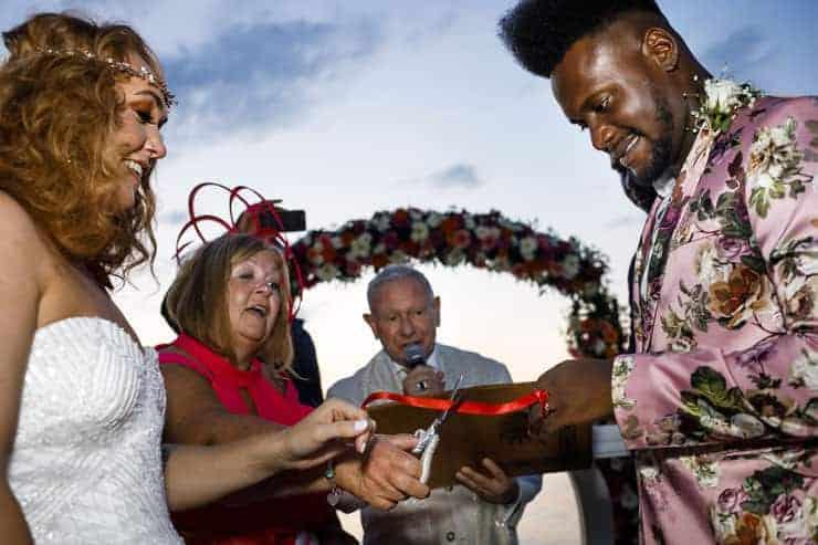 Fethiye Help Beach Wedding Photographs - rings