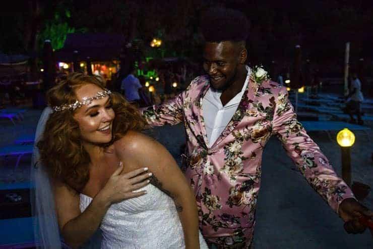 Fethiye Help Beach Wedding Photos - party