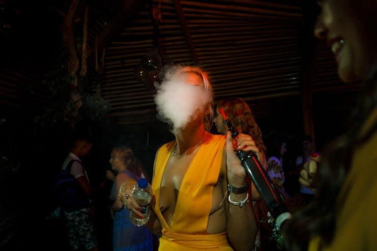 Fethiye Help Beach Wedding Photos - reception speeches
