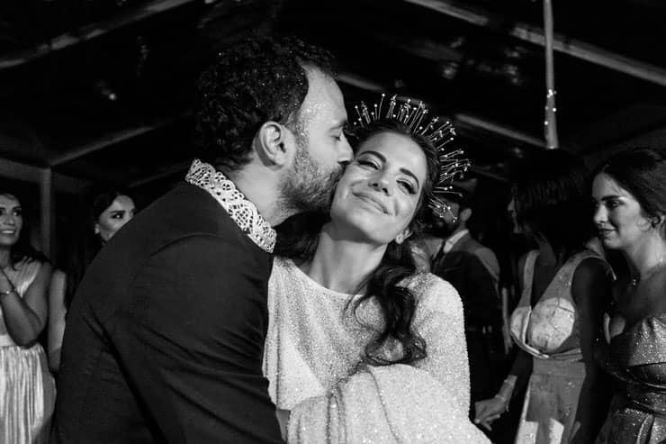 lebanese wedding reception istanbul - slide show groom cries
