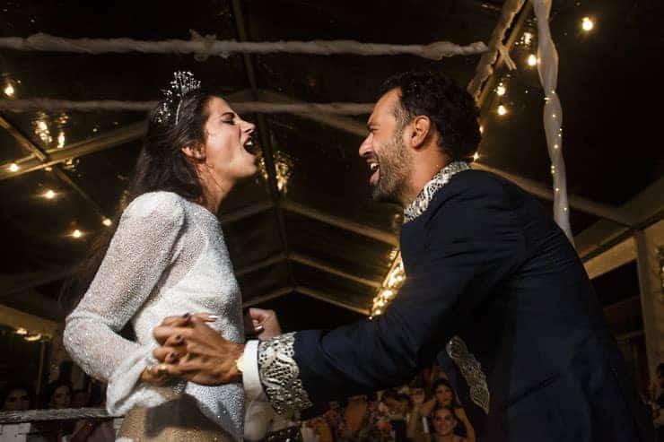 lebanese wedding reception istanbul - groom scream