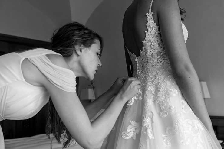 Villa Orselina Locarno Wedding Photographs - preparation