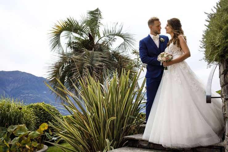 Villa Orselina Locarno Wedding Photographer