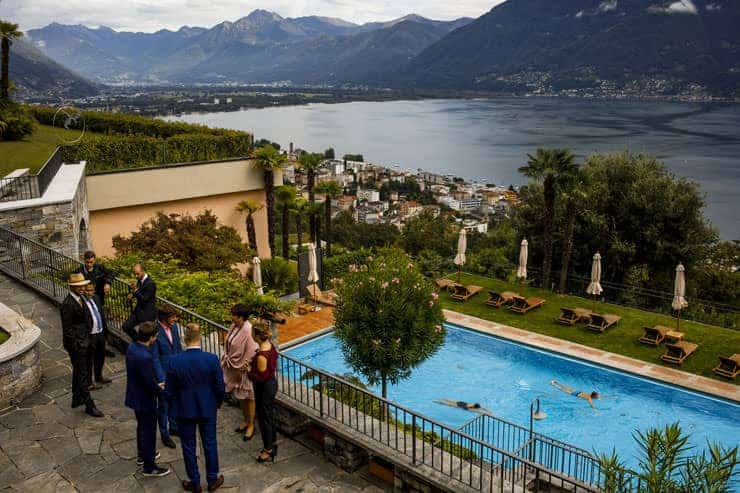Villa Orselina Locarno Swiss Wedding Photographer