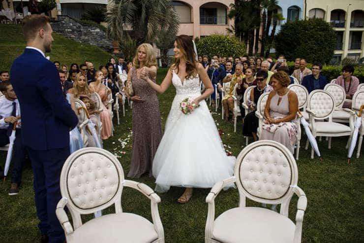 Villa Orselina Locarno Wedding Ceremony
