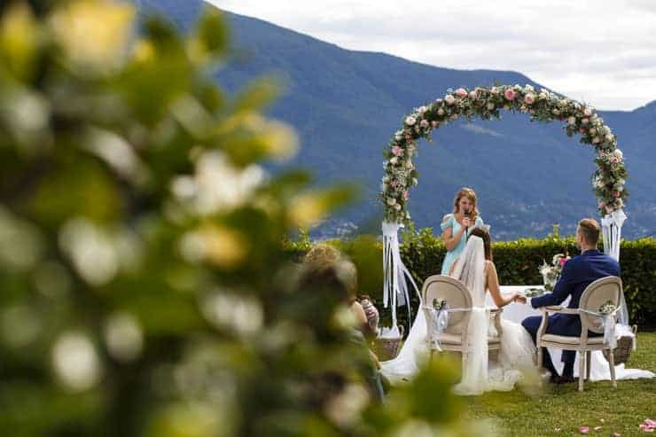 Villa Orselina Locarno Wedding Ceremony - speeches