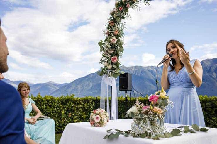 Villa Orselina Locarno Wedding  - speeches