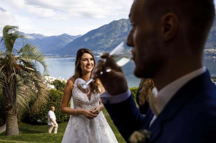 Villa Orselina Locarno Wedding Ceremony - reception