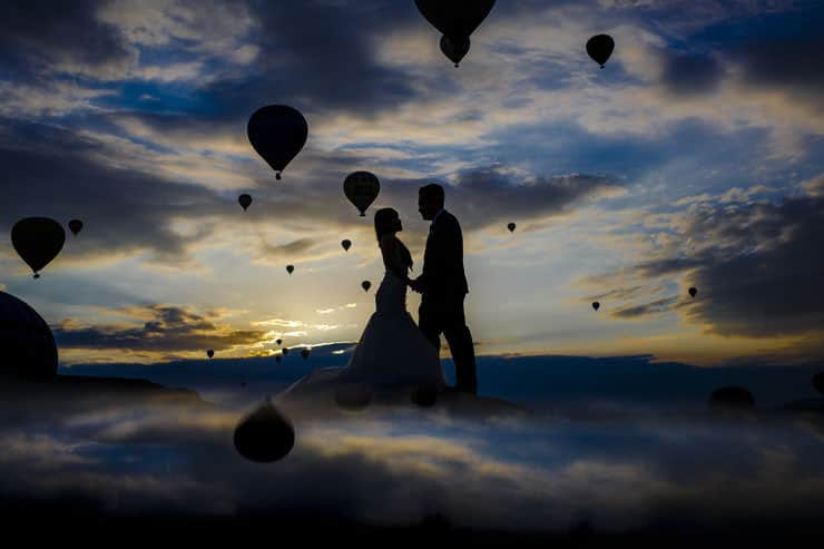 Cappadocia Pre Wedding Sunrise Photographs
