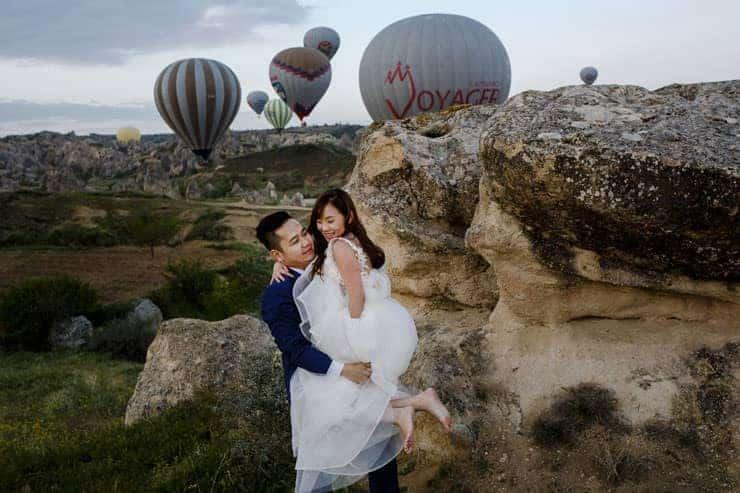 Pre Wedding Photoshoot Cappadocia