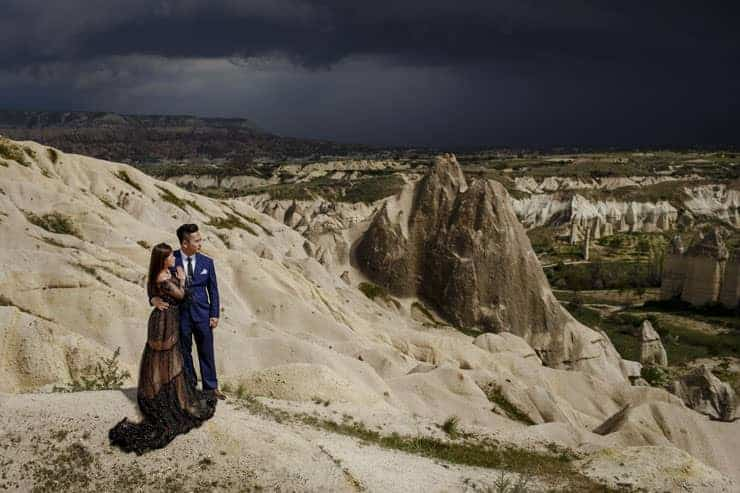 Cappadocia Pre Wedding Hot air Balloons Photo