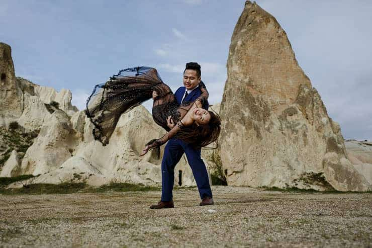 Cappadocia Pre Wedding Photo Session