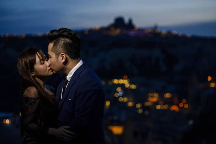 Cappadocia Pre Wedding Sunset Photographs