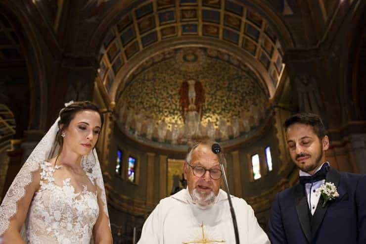 Italy Milan Church Wedding Ceremony