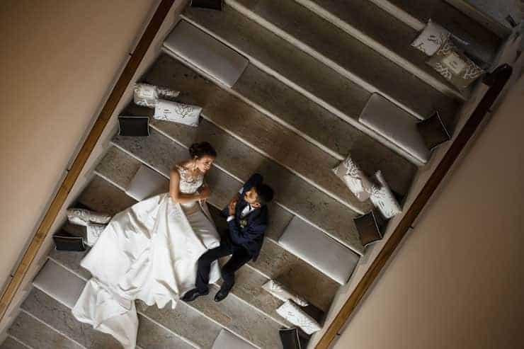 Foto di matrimoni a Milano Villa Valenca