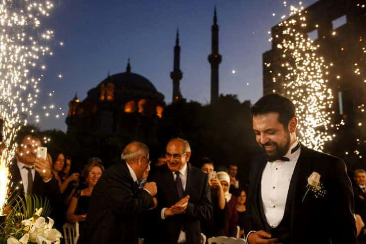 Esma Sultan Summer Wedding in Istanbul Turkey