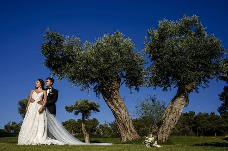 korineum hotel north cyprus wedding photos