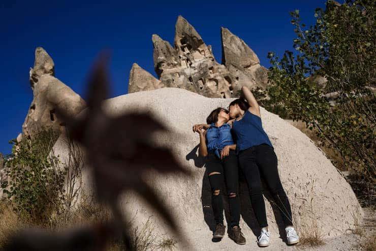 Turkey Cappadocia gay couple photos