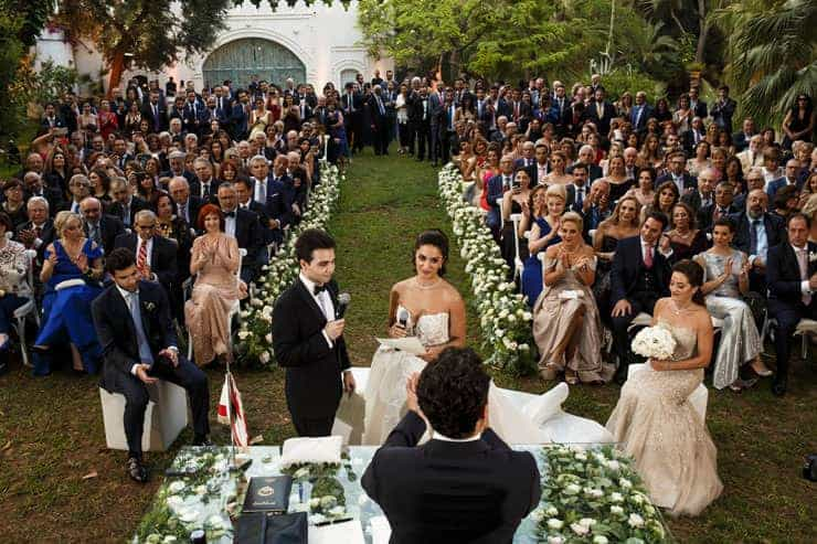 Beirut Sursock Palace Wedding Photos Lebanon