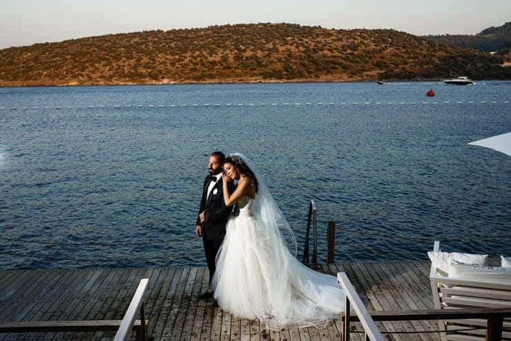 Bodrum Villa Macakizi Wedding Photos Lebanese Wedding