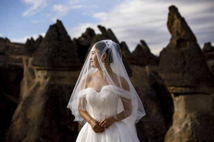 Chinese couple photoshoot in turkey cappadocia