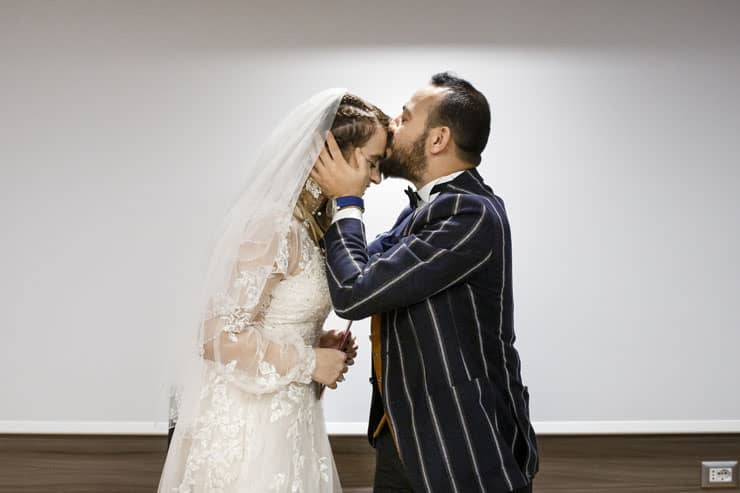 Elopement Wedding Photographer in Milan Turkish Couple