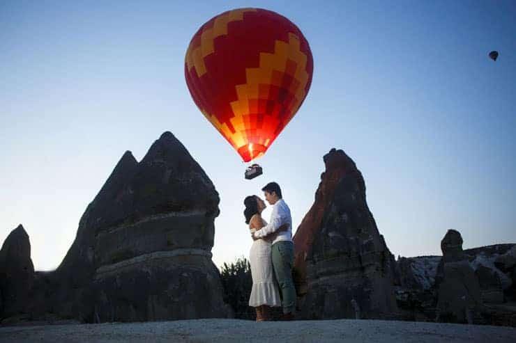 Kapadokya Atlari ile Fotograf Cekimi