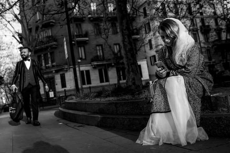 Milan Buyukelciligi Dugun Fotograflari Turk Cift