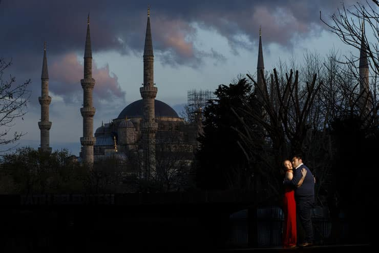 Pre Wedding Photo Shoot in Istanbul Turkey