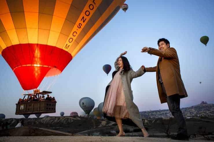 Pre Wedding Photo Shoot in Istanbul and Cappadocia Turkey