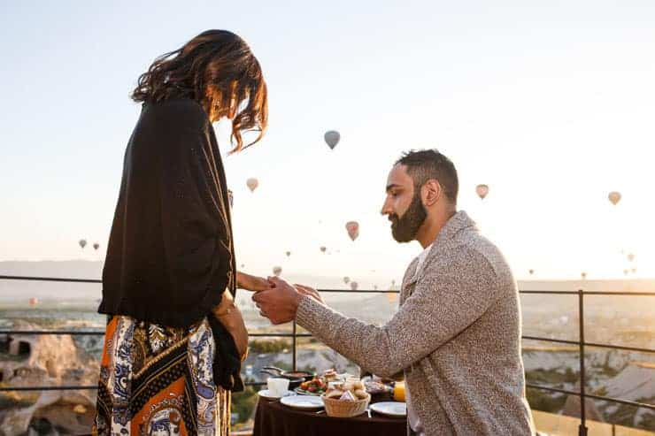 proposal pictures in cappadocia turkey