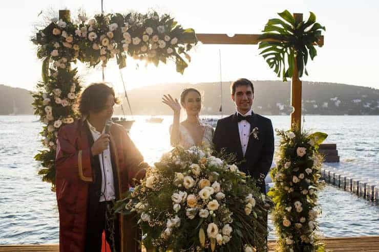 vow renewal pictures istanbul princess islands wedding day