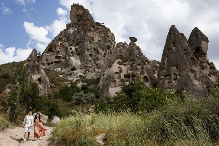 Kapadokya Ucan Balonlar ile Fotograf Cekimi