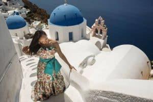 Santorini Pre Wedding Photo shoot greece
