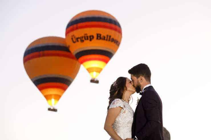 Uchisar Kaya Hotel Wedding Photos Turkey