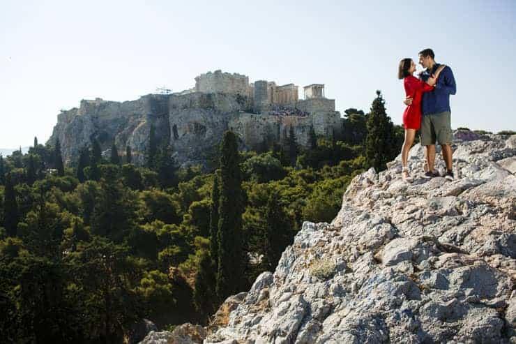 Acropolis Athens Wedding Photos greece